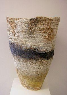 Sarah Purvey abstract ceramic landscape sculpture