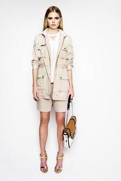 Rebecca Minkoff's sporty jacket in ripstop fabric.