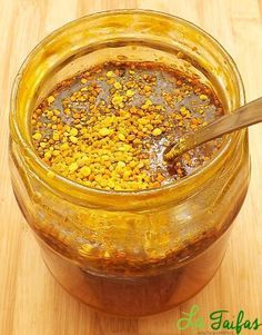 Polen cu Miere Rețetă Healthy Life, Healthy Snacks, Healthy Recipes, Home Remedies, Natural Remedies, Peanut Butter, Deserts, Food And Drink, Health Fitness