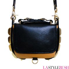 LAStyleRush.com has the Eden Studded Crossbody Bag from CC Skye, everyone has been waiting for! Get your fashionista bag here!