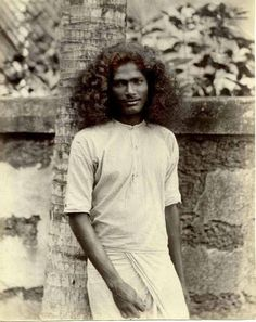 An poster sized print, approx (other products available) - Young man, Ceylon (Sri Lanka). Date: circa - Image supplied by Mary Evans Prints Online - Poster printed in the USA