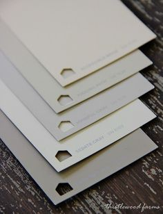 Here's a simple list of the five best gray paint colors for your home. Take the challenge out of choosing a gray with these five classic gray paint colors.