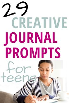 Journaling is an essential practice that anyone can benefit from. Journals are like best friends who hold onto your secrets and help you process your experiences. Journaling regularly can lead to a lifelong daily writing habit, but teens may struggle with figuring out how to start. We've put together 29 Creative Journal Prompts for Teens to help them cultivate this beneficial habit. Teen Writing Prompts, Journal Prompts For Teens, Creative Writing Prompts, Creative Journal, Writing Help, Writing Promts, Difficult Conversations, Summer Jobs, Keeping A Journal