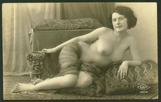 real prostitutes in the old west | An image of a French prostitute in a Paris brothel taken around 1880 ...