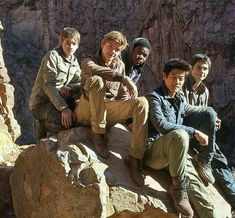 The cast of Maze Runner scorch trials