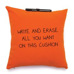 Note Me Pillow.