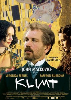 Klimt soundtrack from composed by Jorge Arriagada. Released by MovieScore Media in 2008 ) containing music from Klimt See Movie, Movie Tv, Michel Bouquet, Period Drama Movies, Cinema Posters, Movie Posters, The Artist Movie, Movies Worth Watching, Gustav Klimt