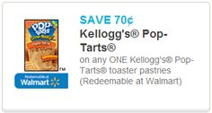 *Rare Coupon* Save 70¢ on any ONE Kellogg's® Pop-Tarts® toaster pastries ~ on CouponCrazyFreebieFanatic.com