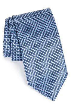 Men's John W. Nordstrom 'Smalling' Dot Silk Tie