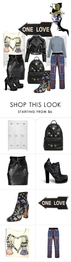 """Deloysfashions"" by deloysfashions ❤ liked on Polyvore featuring GE, MCM, Balmain, Melissa, Valentino, Clover Canyon, Acne Studios and Burberry"