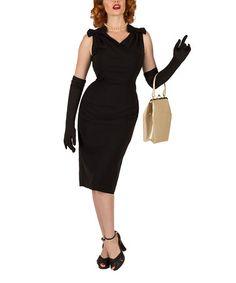 Another great find on #zulily! Black Alice Dress #zulilyfinds