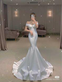 Fancy Wedding Dresses, Big Dresses, Pretty Prom Dresses, Princess Wedding Dresses, Wedding Dress Styles, Elegant Dresses, Bridal Dresses, Fairytale Dress, Classy Dress
