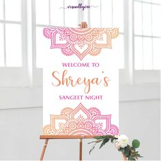Henna Party Sign