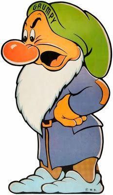 Filmic Light - Snow White Archive: 1938 Snow White and Seven Dwarfs Standees Classic Cartoon Characters, Classic Cartoons, Disney Characters, Cartoon Kunst, Cartoon Art, Cartoon Illustrations, Disney Art, Disney Pixar, Disney Quilt