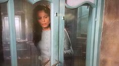 Lena Olin and the beautiful door in the Chocolat movie