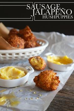 Sausage Jalapeño Hushpuppies - if I'm feeling ambitious (appetizer)