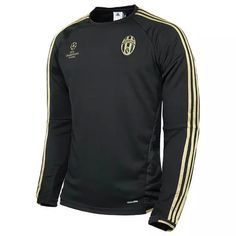 JUVENTUS Jersey 2015/16 Black Champion Soccer Sweater