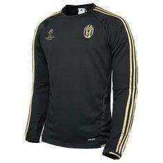 JUVENTUS Jersey 2015/16 Black Champion Soccer Sweater