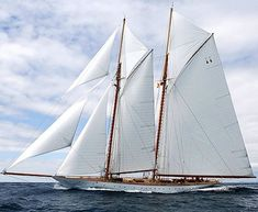 There's something so majestic about these classic yachts