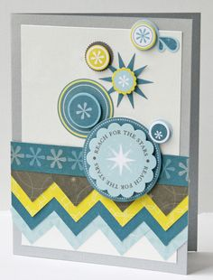 How To: Chevrons with Square Maker - from Creative Memories