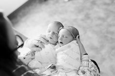 Newborn twins Fresh 48 Session in Hospital | Laurenda Marie Photography | Grand Rapids Michigan