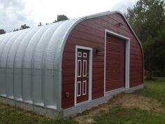 Our Blog - Red barn — or SteelMaster storage building? #polebarns