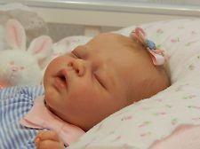 REBORN ADRIE STOETE - ERIN / ADORABLE FAKE NEWBORN BABY GIRL
