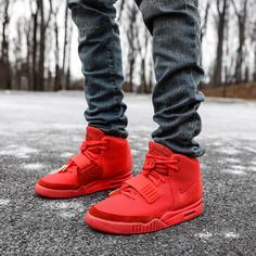 """Nike Air Yeezy 2 NRG """"Red October"""""""