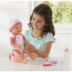 """You & Me 15 inch Drink, Wet and Tears Baby Doll - Toys R Us - Toys """"R"""" Us"""