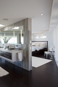 Classic Contemporary Residence - contemporary - bathroom - other metros - by Shane D. Inman