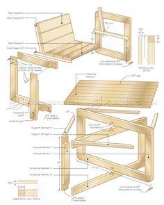 100 idees de fauteuil bois de palette