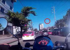 En vídeo un meteorito sobre el cielo de Bangkok