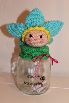 Crochet Decoration, Crochet Home Decor, Crochet Gifts, Crochet Toys, Crochet Jar Covers, Crochet Cup Cozy, Mason Jar Projects, Xmas Decorations, All Things Christmas