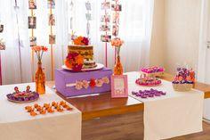 """Ideias bacanas para você se inspirar e fazer um churrasco de aniversário com um clima mais """"arrumadinho"""".  #churrasco #nakedcake #floral #bodadepapel"""