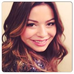 The #gorgeous @mirandacosgrove getting #glam for the @todayshow!! #hair and #beachwaves by @sarahpotempa
