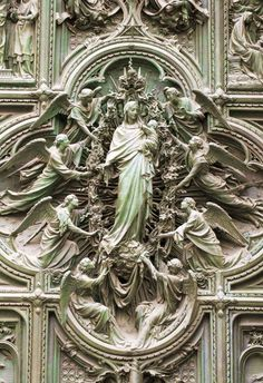 Buddha Statues Aesthetic - Ancient Statues Sketch - Goddess Statues Altars - Statues Of Liberty Painting - Catholic Art, Religious Art, Sculpture Art, Sculptures, Architecture Religieuse, Art Et Architecture, Milan Cathedral, Greek Statues, Buddha Statues
