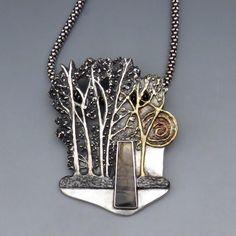 Гуру серебряной глины: чудесные комбинации благородных металлов от Deb Steele - Ярмарка Мастеров - ручная работа, handmade