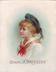 chromo cacao driessen - boy in sailor suit | Flickr - Photo Sharing!