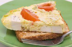omelette au tofu