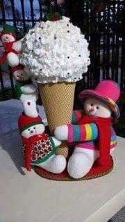 PAPA NIEVES Candy Christmas Decorations, Christmas Centerpieces, Christmas Candy, Christmas Art, Xmas, Christmas Ornaments, Holiday, Christmas Storage, Natal Diy