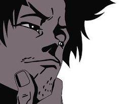 Cowboy Bebop, Samurai, Food Halloween Costumes, Otaku, Emotion Faces, Simple Anime, Japanese Poster Design, Old School Tattoo Designs, Hot Anime Boy
