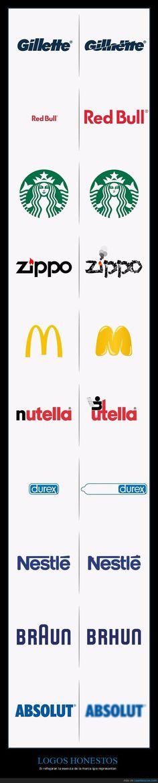 Cómo serían los logos de algunas marcas famosas si reflejaran la esencia de sus productos - Si reflejaran la esencia de la marca que representan   Gracias a http://www.cuantarazon.com/   Si quieres leer la noticia completa visita: http://www.skylight-imagen.com/como-serian-los-logos-de-algunas-marcas-famosas-si-reflejaran-la-esencia-de-sus-productos-si-reflejaran-la-esencia-de-la-marca-que-representan/