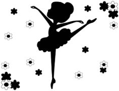Image result for silhouette of ballerina