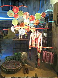 Our Autumn Window Display.