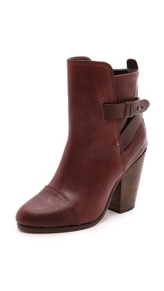 boots in the most delicious chocolate brown...