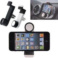 """Car Gadgets Holding Width Adjustable 360-Degree Rotary Car Air Outlet Mount Holder for 3.5""""-6.3"""" Smartphone * Check out the image by visiting the link. (This is an affiliate link) #CarCradlesMounts"""