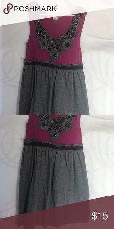 Dress Bead embellished tankie short dress Dresses Mini