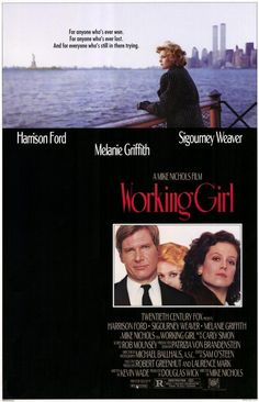 Working Girl , starring Melanie Griffith, Harrison Ford, Sigourney Weaver, Alec Baldwin. When a secretary's idea is stolen by her boss, she seizes an opportunity to steal it back by pretending she has her boss's job. #Comedy #Drama #Romance