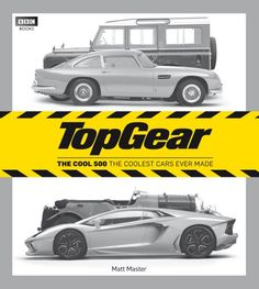 Top Gear: The Cool 500: The Coolest Cars Ever Made by Matt Master http://www.amazon.com/dp/1849901392/ref=cm_sw_r_pi_dp_2mswub14TEYMT