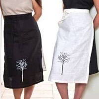These aprons would be cute for a catering company!